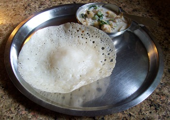 appam with avial