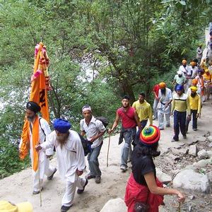 Sikh pilgrims