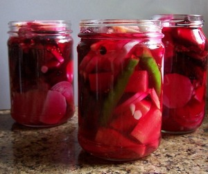 Mooli and beet Pickle 03