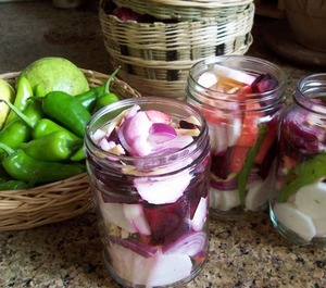 Mooli and beet Pickle 01