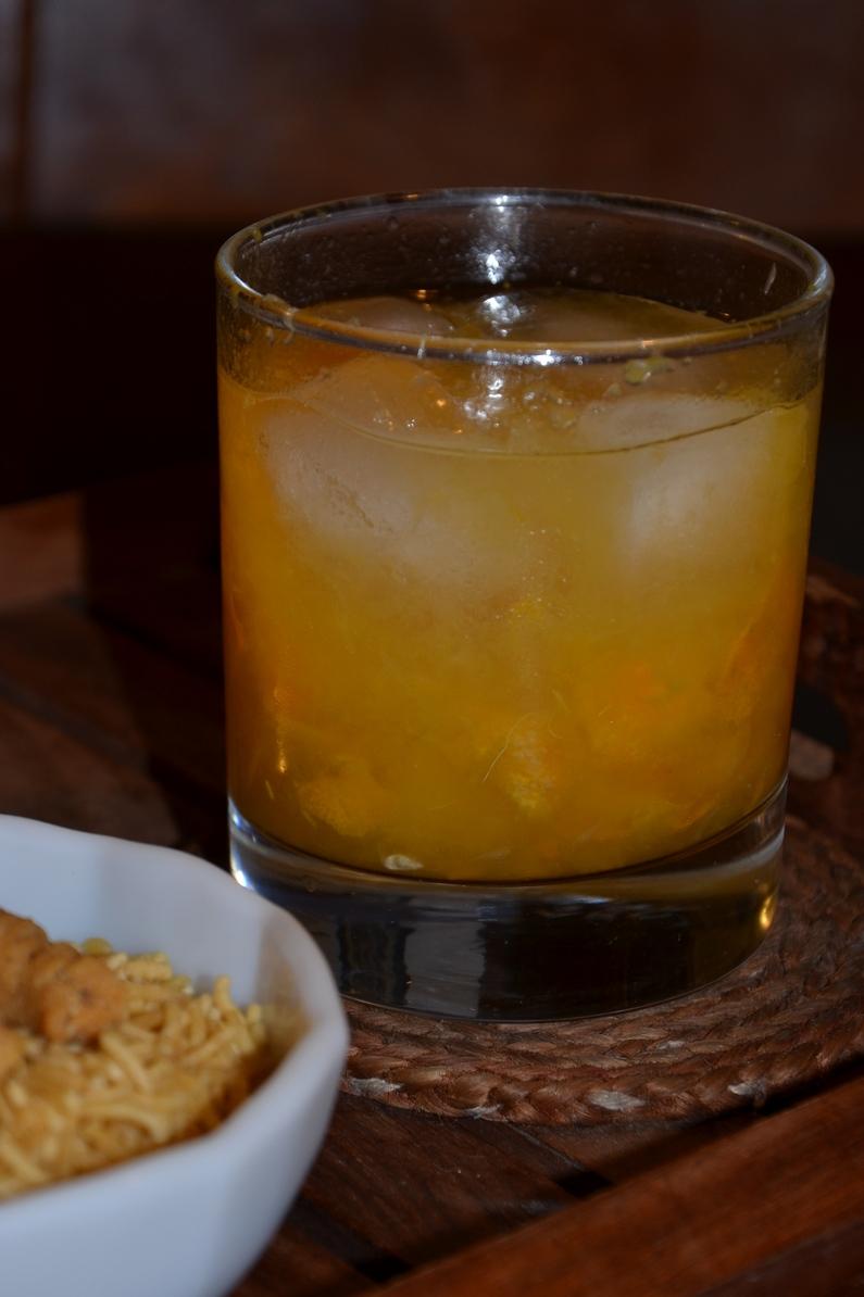 Kumquat Caipirinha at CHOW