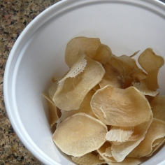 All dried - potato chips