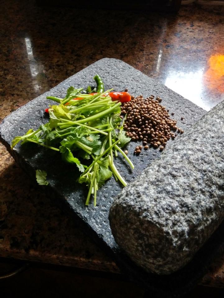 bhnag seed chutney