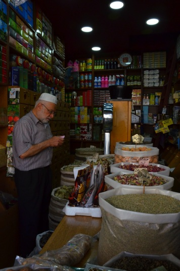 Grocer, Downtown Amman