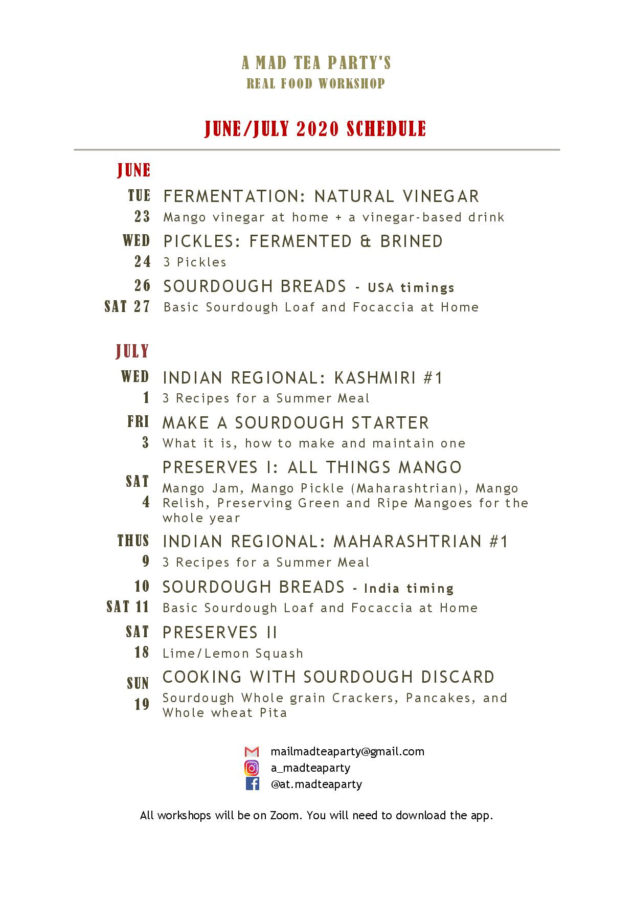AMTP WP Jun-Jul 2020 Workshop Schedule